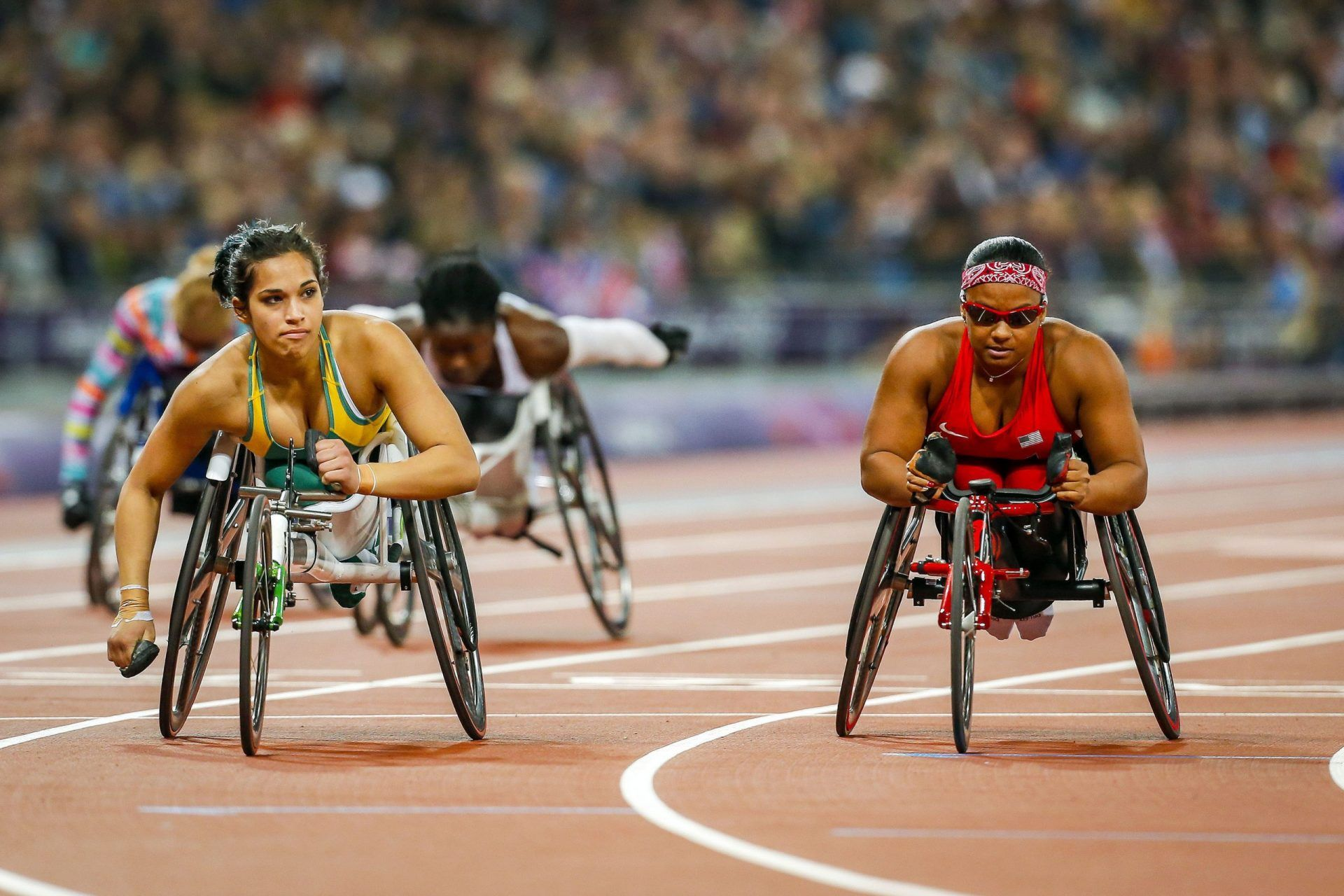 Paralympics Flywheel Training