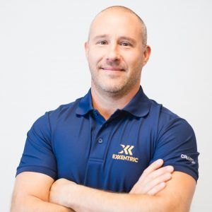 Exxentric CEO Fredrik Correa