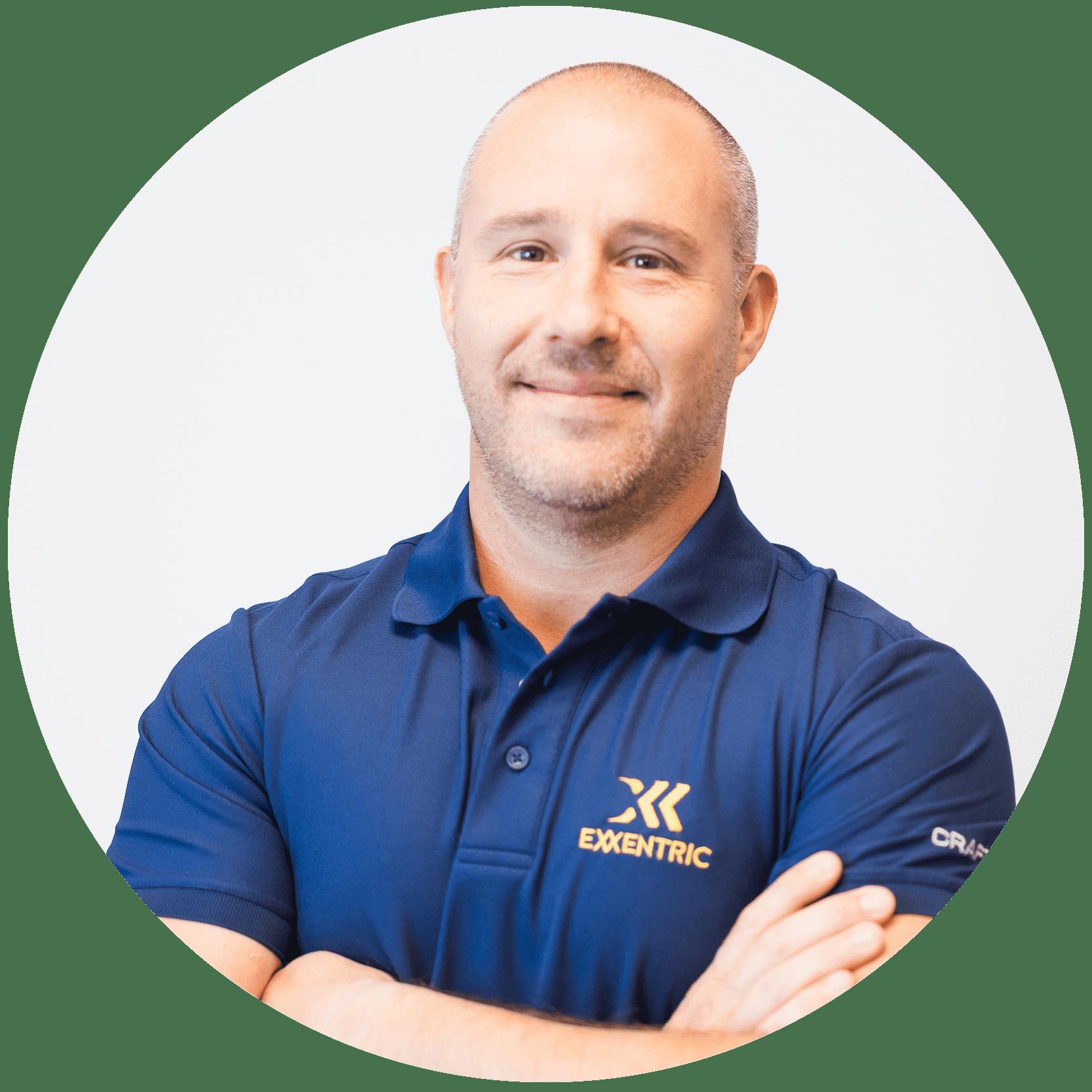 Fredrik Correa CEO & Founder of Exxentric