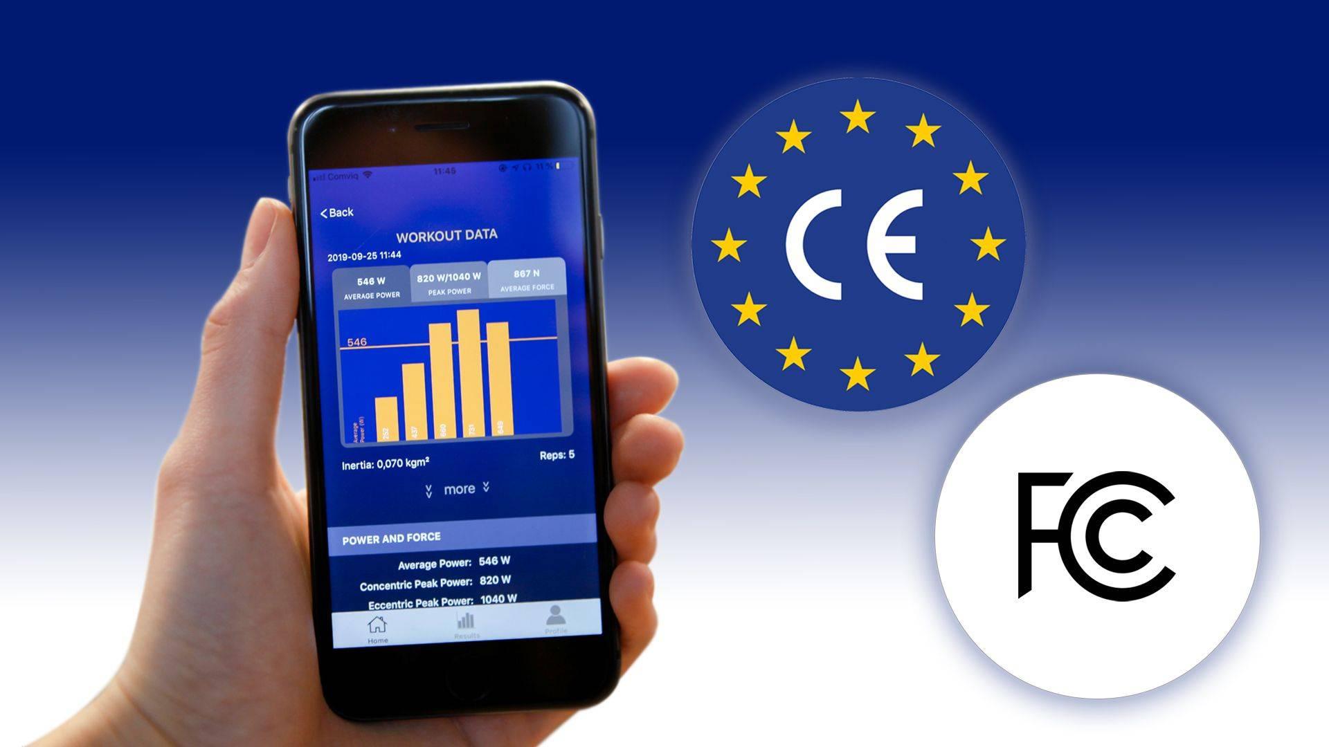 kMeter Certifications CE FCC ISED
